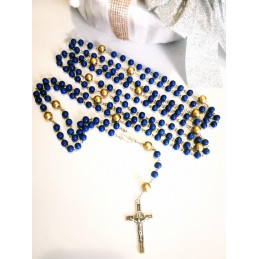 Our Lady's rosary 15 mysteries - wooden