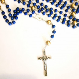 Our Lady's rosary - wooden