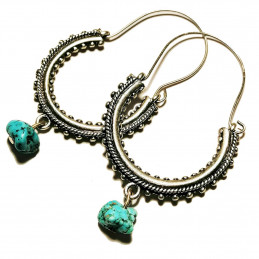 "Konavle earrings ""Turquoise"""