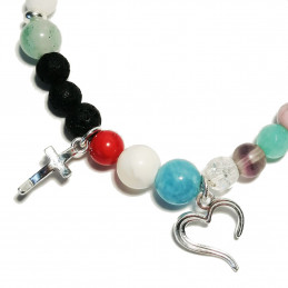 """Bracelet """"The story of the life of Jesus"""", silver"""