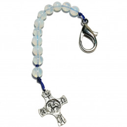 "Key ring ""Rosary"" - Opalit"