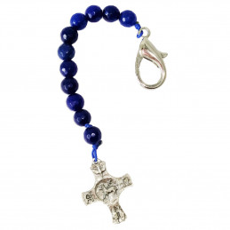 "Key ring ""Rosary"" - Agate"